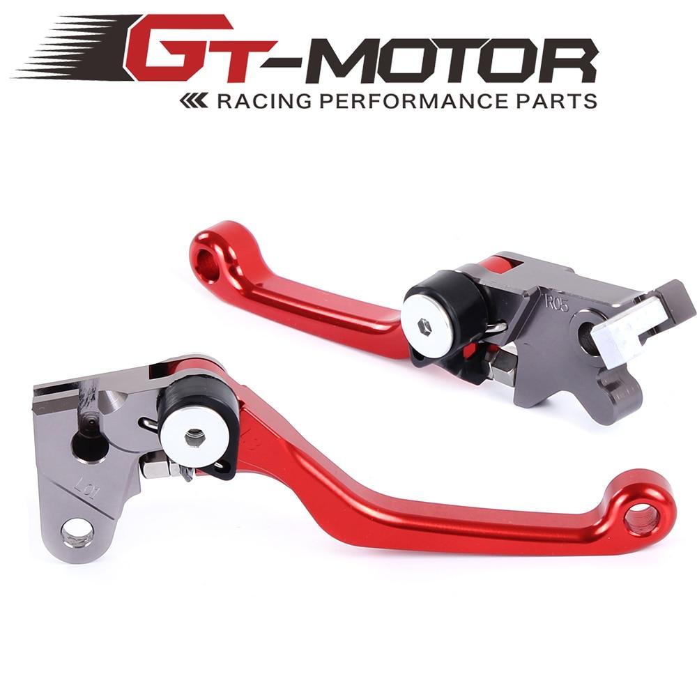 Pivot Brake Clutch Levers for HONDA XR250/MOTARD CRM250R/AR XR400MOTARD cnc dirt bike flex pivot brake clutch levers for honda crm250r ar xr250 400 motard