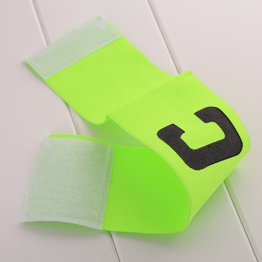 Soccer Football Captain Armband Arm Band Multi Color Rugby Long Clothing Sports Accessories Team Mark
