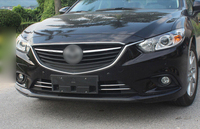 ABS Chrome Front Hodd Lid Grille Grill Upper Cover Trim 1pcs For Mazda Atenza M6 M