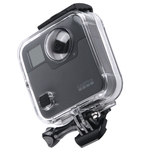 Image 2 - 40M Waterproof Housing Case Back Door For Gopro Fusion 360 Camera Underwater Box For Go Pro Fusion Action Camera Accessories