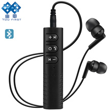 YOU FIRST Receiver Bluetooth Earphone Wireless Headphone Handsfree Bluetooth Headset 3.5mm Wired Earphone With Mic For Phone
