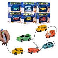 DIVERSION Inductive Car Truck Tank Toys Mgaic Pen Vehicles Children S CAR Truck Tank Toy Car