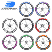 350g 12 inch 203 20mm x 30mm Tubeless Clincher Balance Bike Carbon Wheels 12 Kid's Bicycle strider/Kokua/Puky NBK Bearings