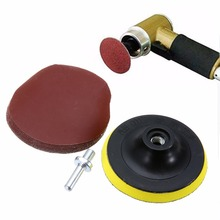 10Pcs 4 Inch Sanding Disc Sander 1000 Grits Hook Loop Backer Pad & 45X7mm Shank For Cleaning And Polishing