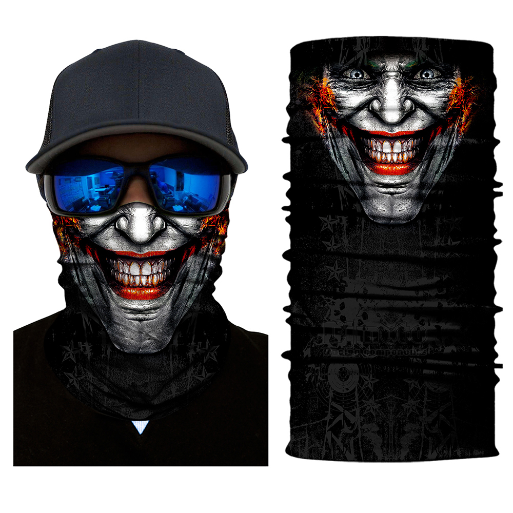 BJMOTO Outdoor Windproof Double Face Shield Sun Mask Balaclava Neck Gaiter Neckerchief Ski Mask Motorcycle new arrival 3d animal outdoor party cycling ski hat balaclava motorcycle full face mask cap face shield sun mask dropshipping