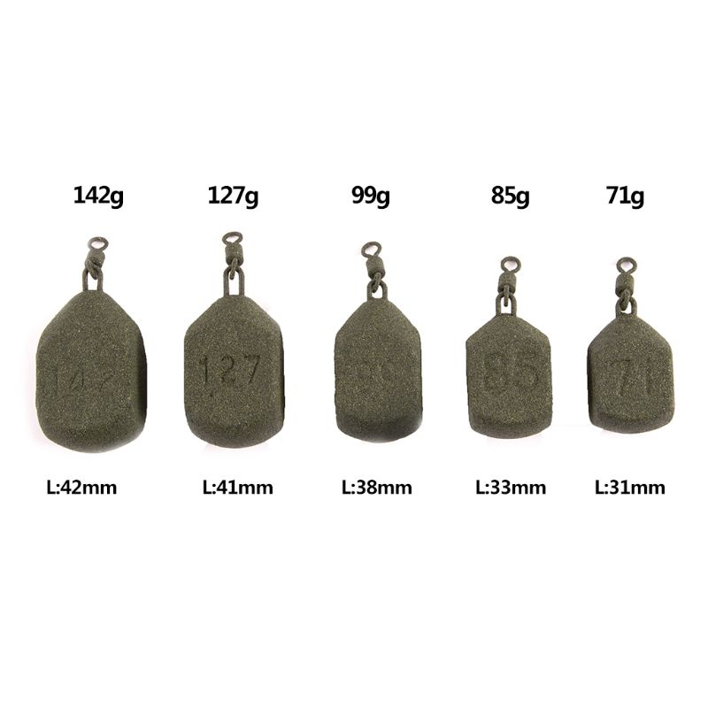 New Lead Weight Fishing Sinker Geometric Shape Special Professional Carp Tackle Sea Fishing Accessories 71g/85g/99g/127g/142g