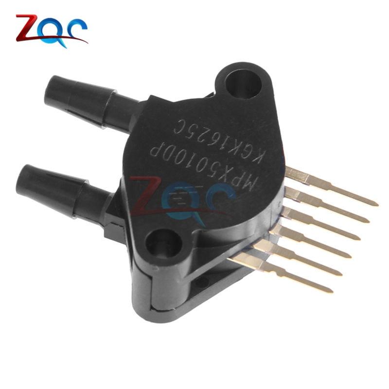 MPX5010DP Sensore di Pressione MPX5010 0-10KPa Sensore del TrasmettitoreMPX5010DP Sensore di Pressione MPX5010 0-10KPa Sensore del Trasmettitore
