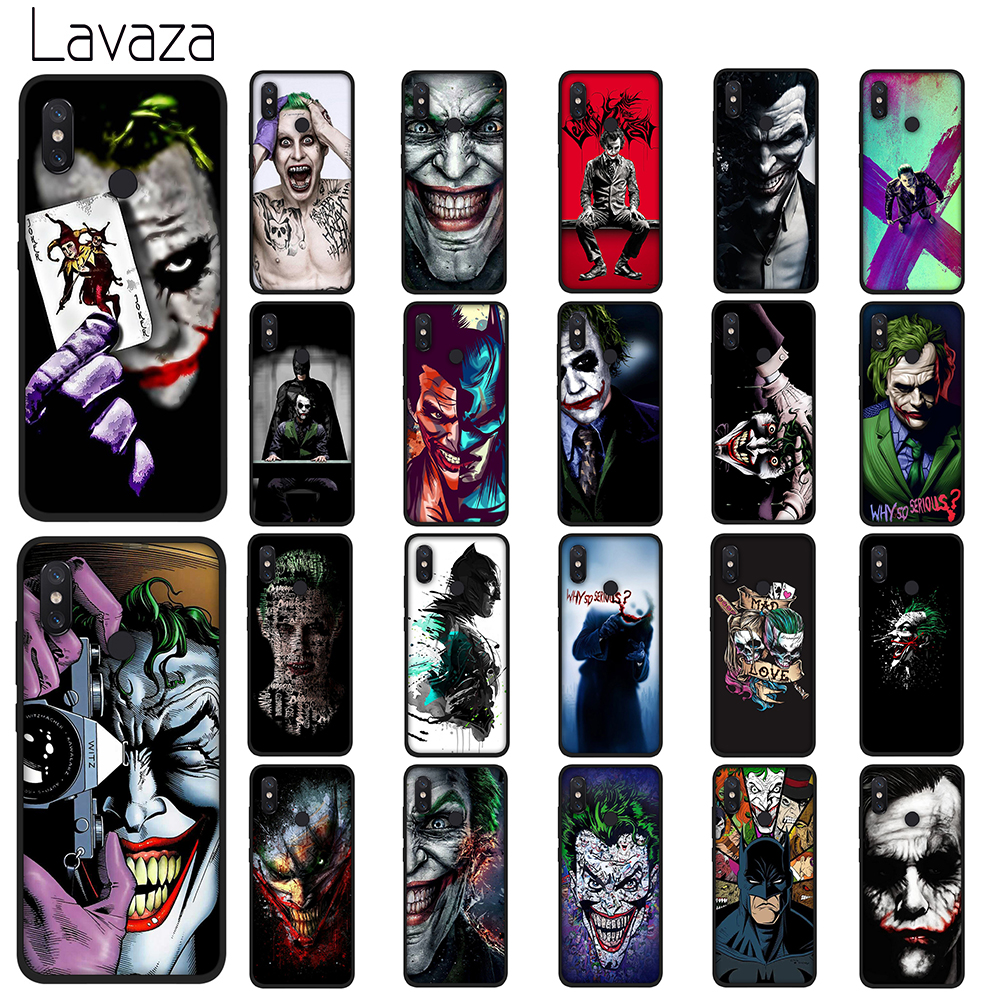 Lavaza Batman Dark Knight Joker Karta Soft TPU Case for Xiaomi Redmi Note 5 6 7 Pro for Redmi 5A 6A S2 5 Plus Silicone Cover marvel glass iphone case