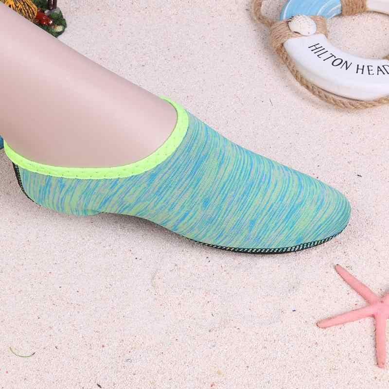 Yüzme Erkek Kadın Su Plaj Sahil Ayakkabı Unisex Yaz Aqua Düz Yumuşak Sneakers Çorap