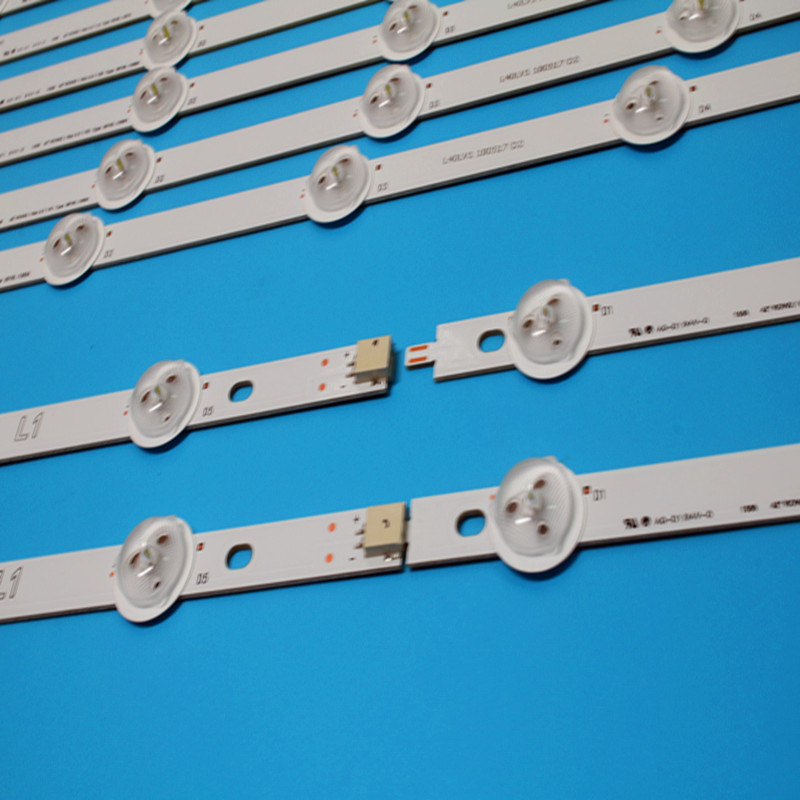 New Kit 10 PCS R1 L1 R2 L2 LED Strip Perfect Replacement For LC420DUE 42LN5400 6916L-1385A 6916L-1386A 6916L-1387A 6916L-1388A