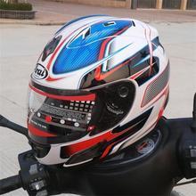 ARAI helmet Rx7 - top RR5 pedro motorcycle helmet