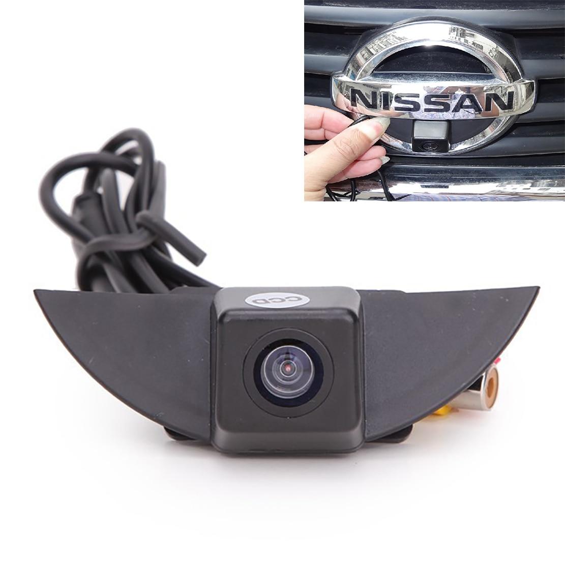 ▽Color CCD logotipo del vehículo cámara de visión frontal para ...