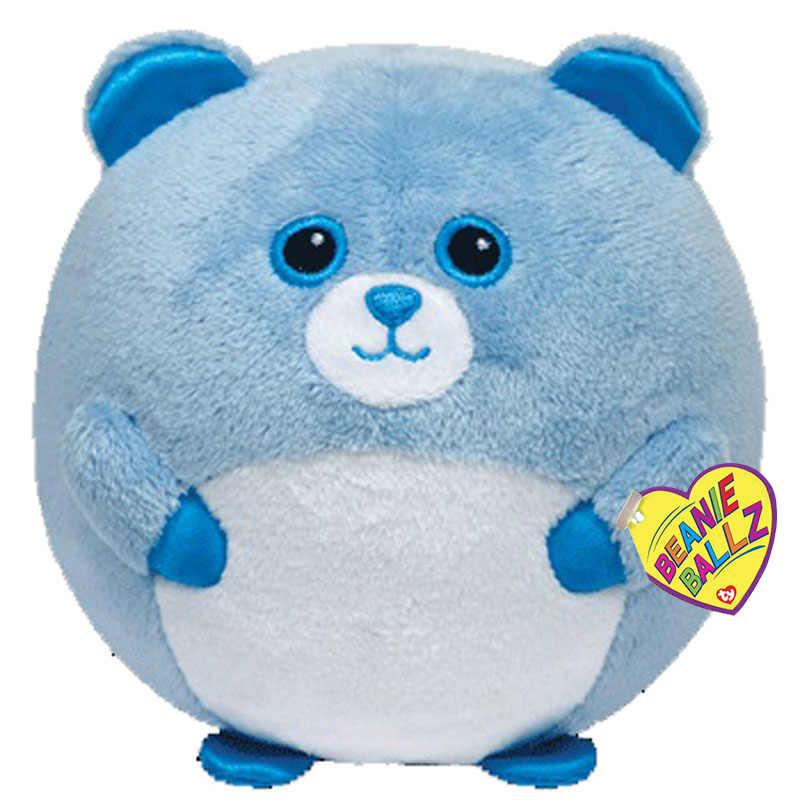 """Тая Шапочка Ballz 4 """"10 см Bluey плюшевые игрушки куклы чучело медведя коллекция куклы с биркой"""