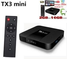 TX3 мини 10 шт ТВ коробка S905W 2,4 ГГц WiFi Android 7,1 1 ГБ 8GGB rom 2G 16G поддержка 4 K 10 шт