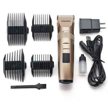 professional hair clipper lithium battery titanium ceramic blade Rechargeable Hair Trimmer hair cutting machine style Tools
