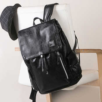 LIELANG Men Backpack Fashion Trends Youth Student Leisure Travel Men Bag Boys Bags Backpacks Computer Bags Backpacks