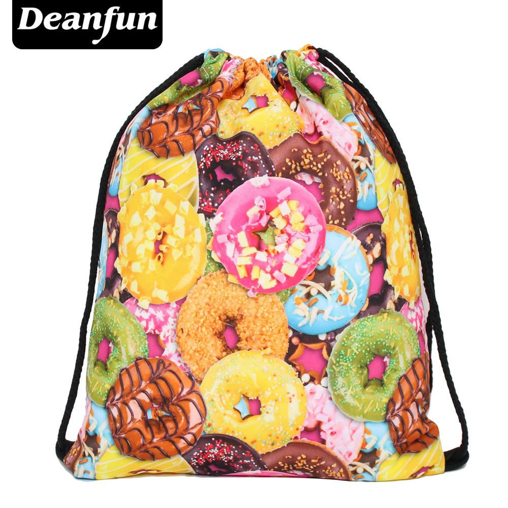 Deanfun Brand new 2016 escolar backpack 3D printing travel softback man women mochila feminina drawstring bag backpack donts s48 polygon wolf 3d printing fashion women party bolsa feminina drawstring bag travel backpack mochila man s bags