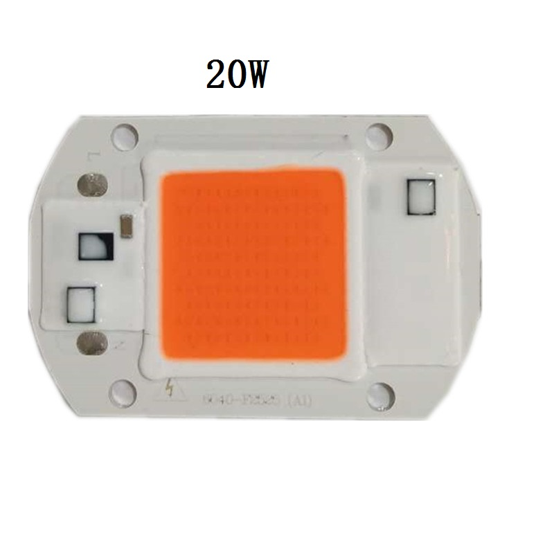 AC110V 220V Full Spectrum 380~780nm Hydroponic Grow Lamps Beads For Plants LED Indoor Grow Lamp Led Grow Light 20w 30w 50w