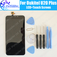 Oukitel U20 Plus LCD Display Touch Screen 100 Original LCD Digitizer Glass Panel Replacement For Oukitel