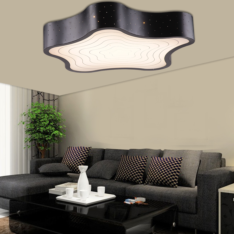 modern ceiling lights deckenleuchten led bedroom acrylic lamp lamparas de techo lamps plafoniere moderne living room light