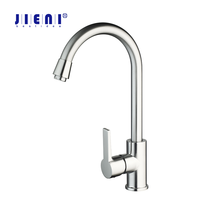 BEST Modern Kitchen Faucet Sink Mixer Nickel Brush Water Tap 97198 Deck Mounted Basin Tap Deluxe