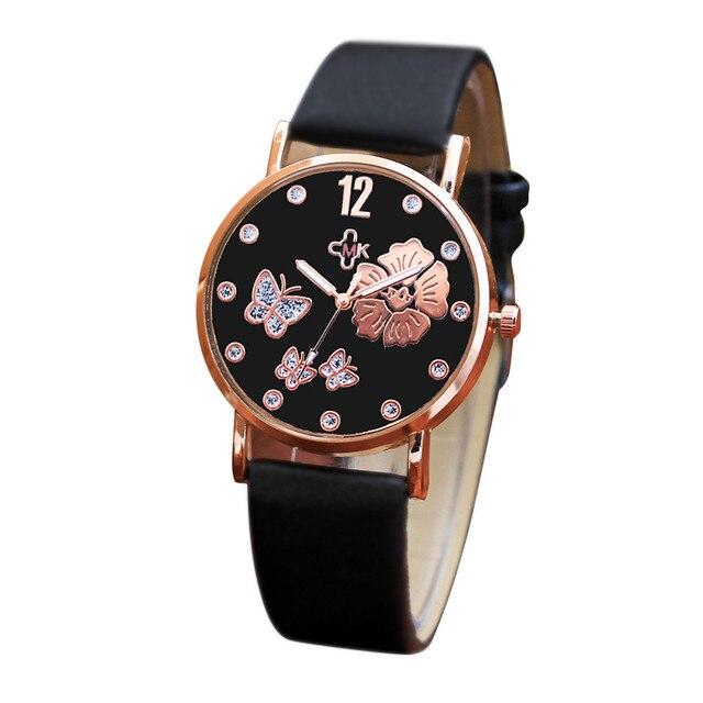 Women Watches Stainless Steel Brand Fashion Ladies Wristwatch Creative Quartz Cl