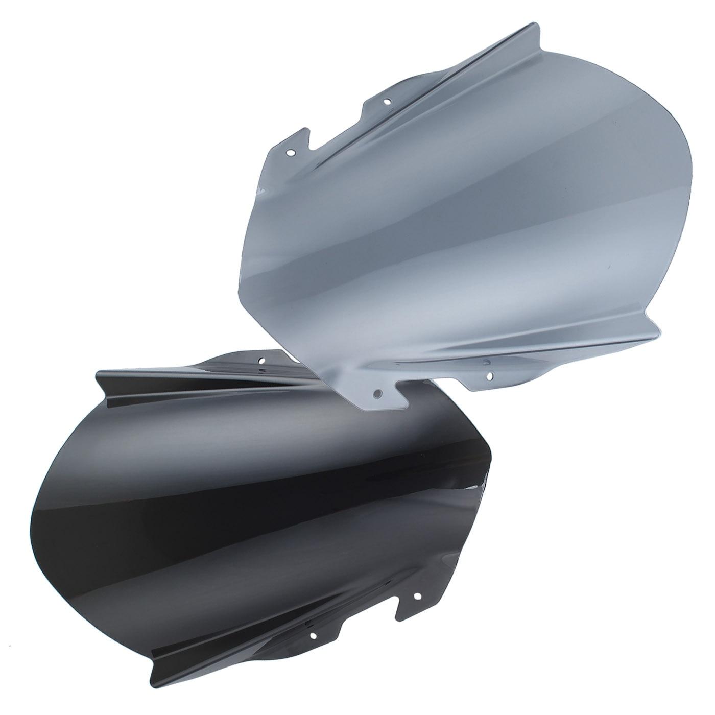 Double bulle pare-brise pare-brise déflecteurs de vent résistant aux rayures Scooter pour 2014-2018 KTM RC125 RC200 RC390 2015 20162017