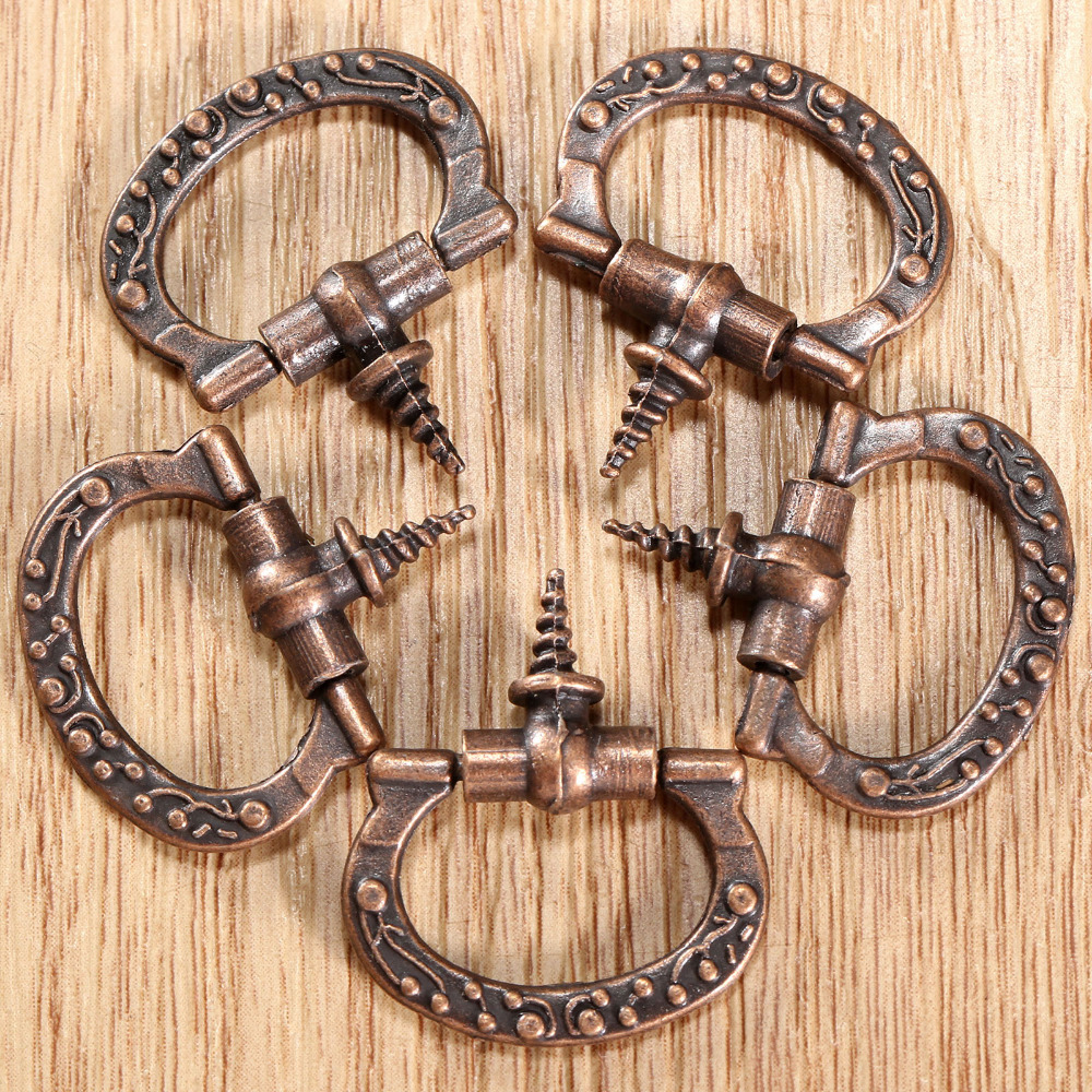 5Pcs Antique Furniture Handle Cabinet Knobs and Handles Retro Kitchen Knobs  Drawer Cupboard Pull Door Handles Furniture Fittings - Antiquing Cupboards Reviews - Online Shopping Antiquing Cupboards