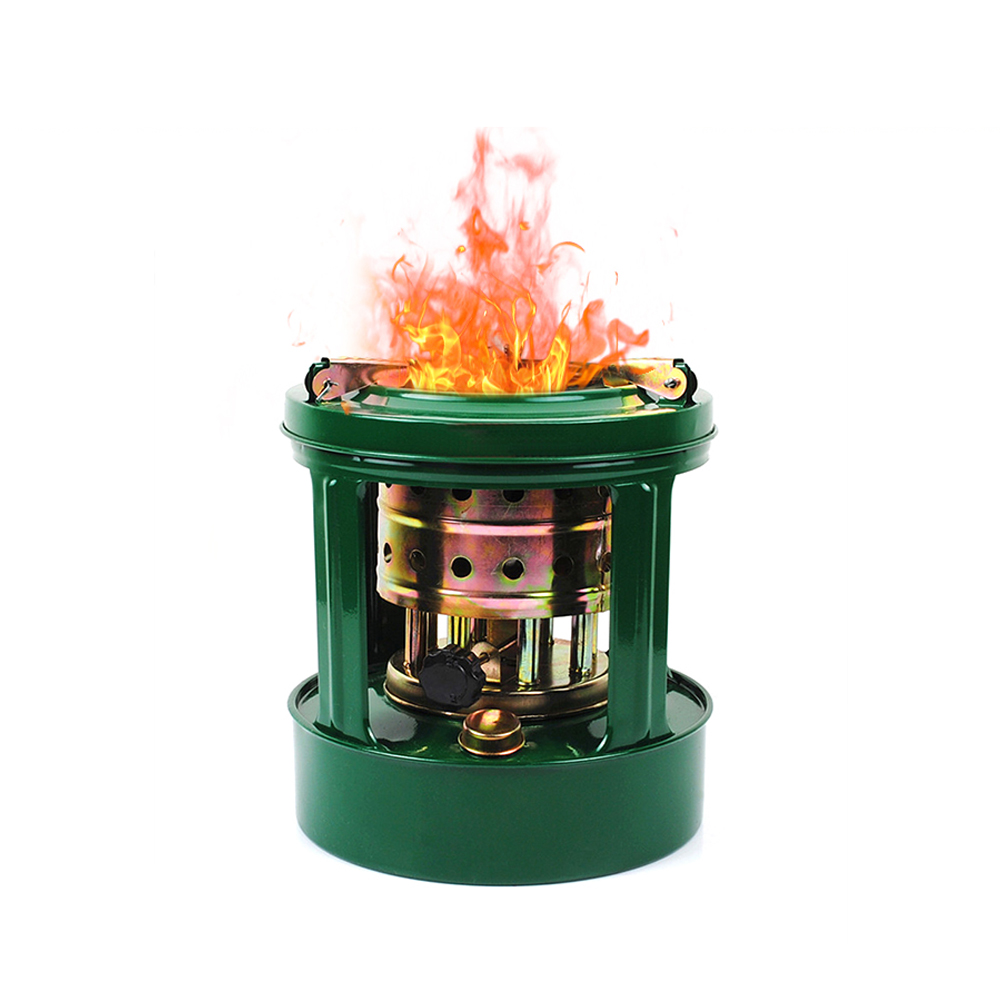 Outdoor Stove Portable Camping Heater 8 Wicks Kerosene Cooking Stove Camping Stove Windshieldalcohol Stoves-in Outdoor Stoves from Sports & Entertainment