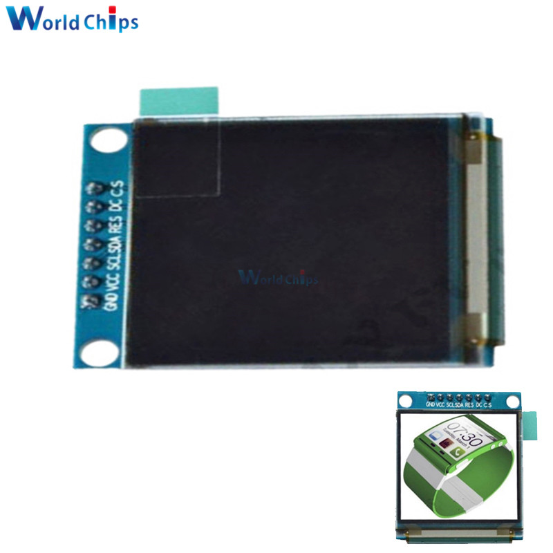Diymore 1.5 Inch 128x128 RGB SPI Interface OLED LCD Display SSD135 Driver IC 7PIN Full Color OLED Module For Arduino 51 STM32