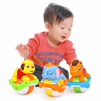 Animals Sliding Children S Toys Music Rocker Can Slide Baby Science Crawling Tumbler Toys Send Your