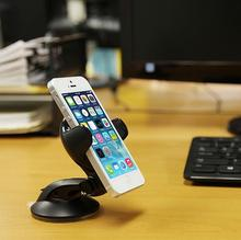 360 Car Stand Holder Case for samsung 2016 J5 J7 A5 A7 mount desk table Dock support MP3 GPS HTC one M7 m8 m9 A9 LG G3 G5 G4 G2