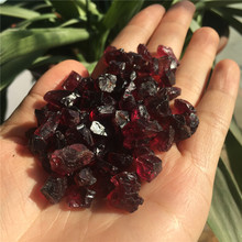 50g high quality rough natural wine red garnet healing crystals raw gemstones for DIY making jewelry