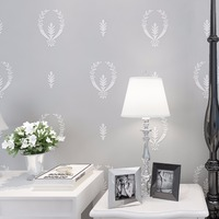 European Style Flowers Wallpaper Bedroom Dining Room Vintage Retro Non Woven Wall Paper Roll