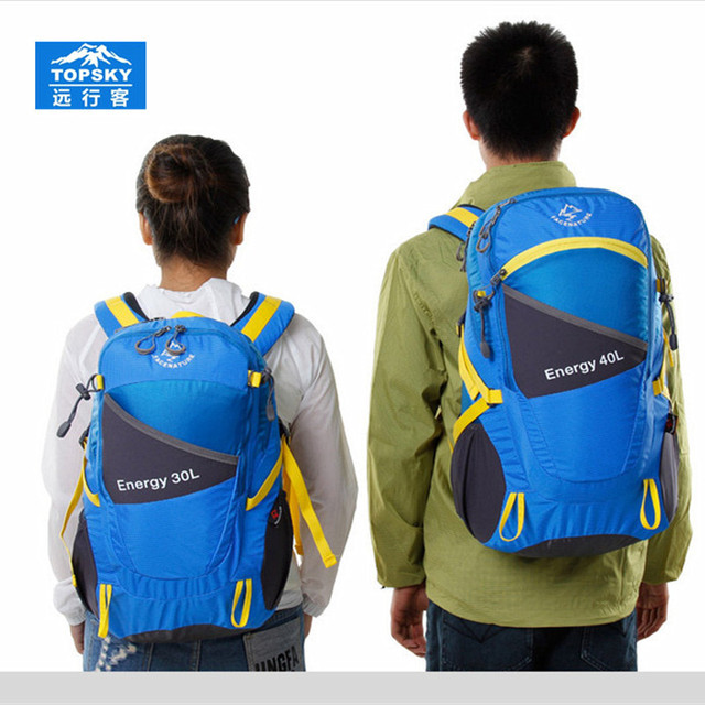 Topsky 30L 40L professional climbing Backpack Camping bag sport Men women bag External Frame backpack mochilas sports bags