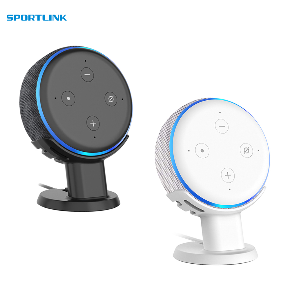 Outlet Desktop Holder Stand for Amazon Alexa Echo Dot 3nd Generation Space Saving Stand Bracket Assistants AccessoriesOutlet Desktop Holder Stand for Amazon Alexa Echo Dot 3nd Generation Space Saving Stand Bracket Assistants Accessories