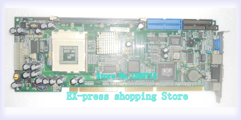 FSC-1613VN industrial board work perfect tested good working perfect with CPU AND RAM pca 6003 pca 6003ve a2 industrial motherboard tested good board with fan cpu and ram