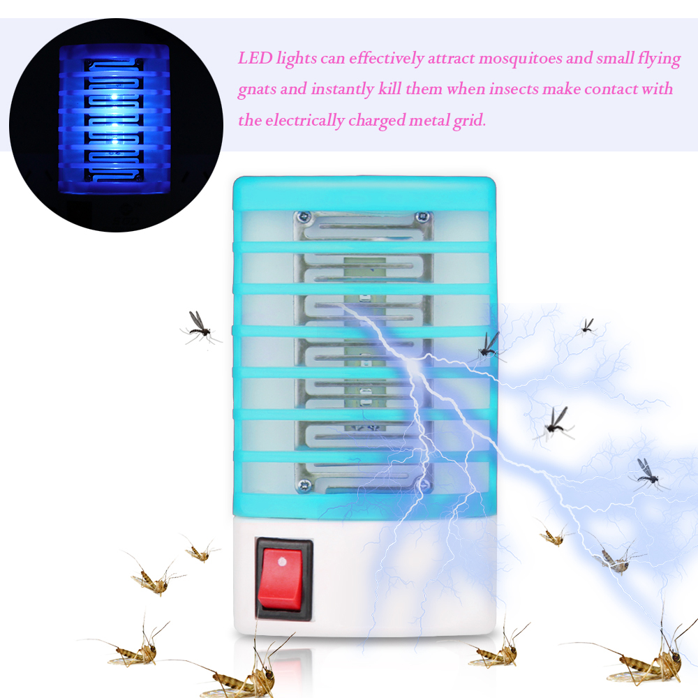 110 220V Socket Electric Mini Mosquito LED Night Lights Insect Mosquito Repeller killing Fly Bug Insect Night Housefly mini night light insect mosquito repellent mosquito flies housefly home safe free shipping