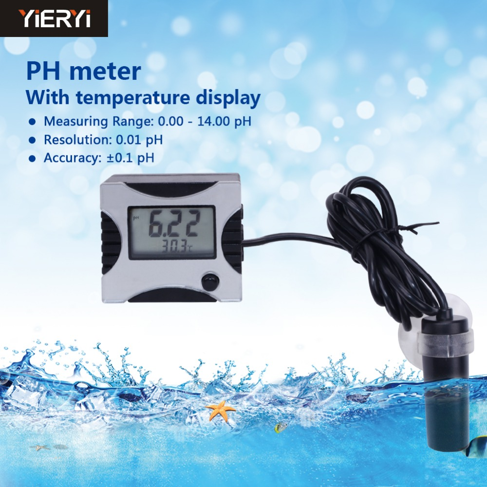 yieryi 100 New Pen Type Tester Auto Calibration Analyser Aquarium control ph Meter Pool Water With