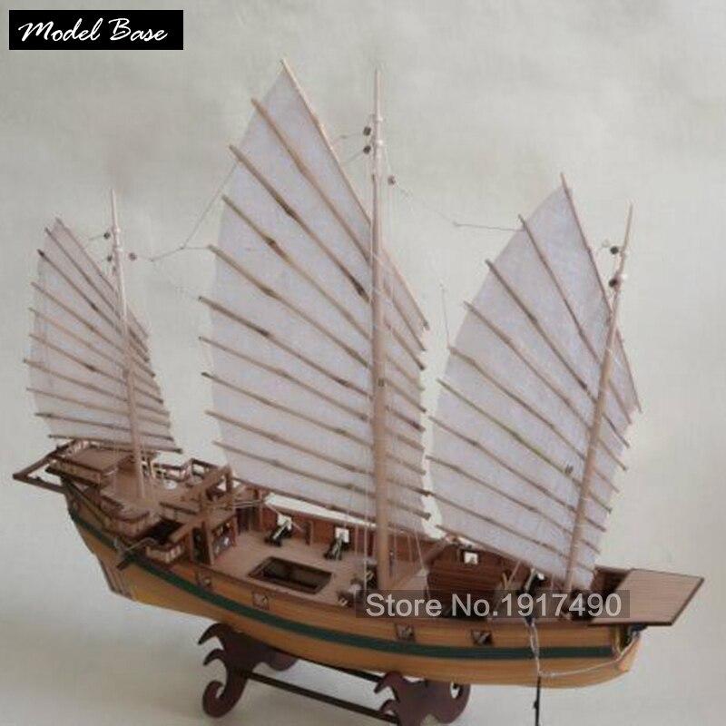 Maquette de bateau en bois Kit de jeux éducatifs pour enfants bateau bois modèles 3d découpé au Laser adulte assembler modèle de navires échelle 1: 87 Corsair licorne