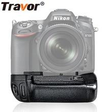 Travor Nikon D7100 Dikey Battery Grip Tutucu D7200 DSLR kamera EN-EL15 pil ile çalışma olarak MB-D15 MBD15 MB D15