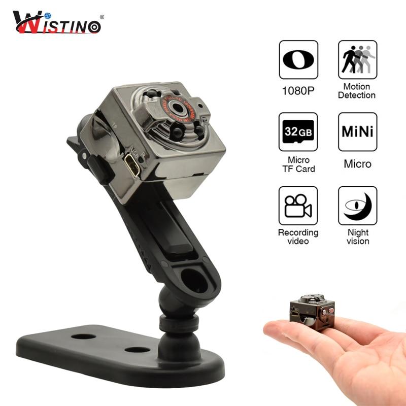 Wistino Mini Camera Full HD 1080P Voice Video Recorder Nanny Motion Sensor DV Digital Small Video Camera Infrared Night Vision цена