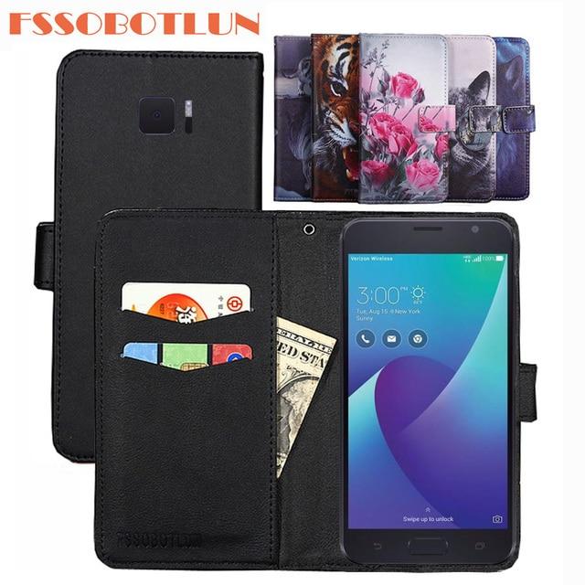 new concept 3c319 48384 US $3.99 5% OFF FSSOBOTLUN 9Color For ASUS ZenFone V V520KL Case PU Leather  Retro Flip Cover Shell Magnetic Fashion Wallet Cases Kickstand Strap-in ...