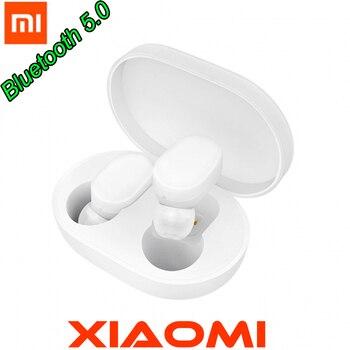 New Presale Xiaomi TWS Bluetooth Earphone Touch control Headset Bluetooth 5.0 Xiaomi Mi Earphone Build-in Mic With Charging box rockspace eb30