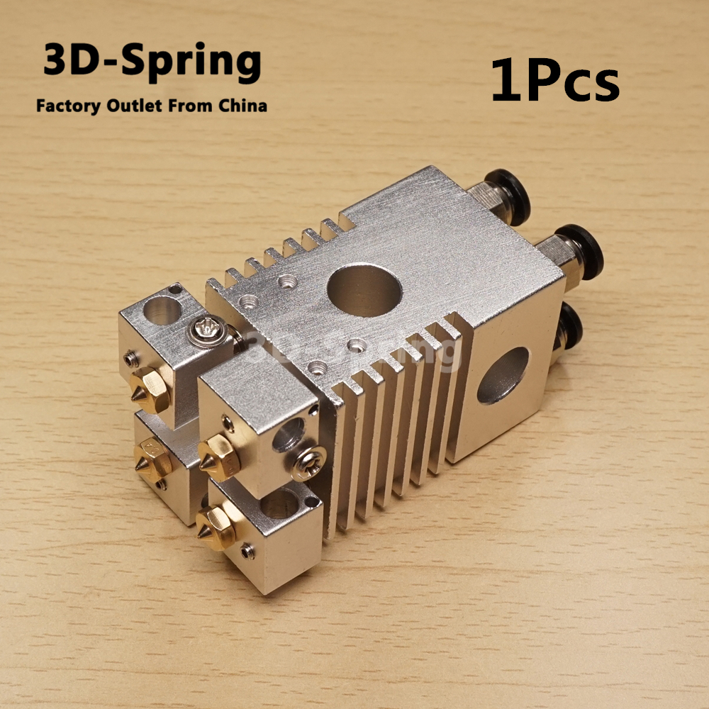 1 Pcs Hotend Kit Pour Ultimaker 2 Extrudeuse buse Croix table Coulissante Pour 1.75 3mm Rupture Thermique Téflon Fine finition Titane
