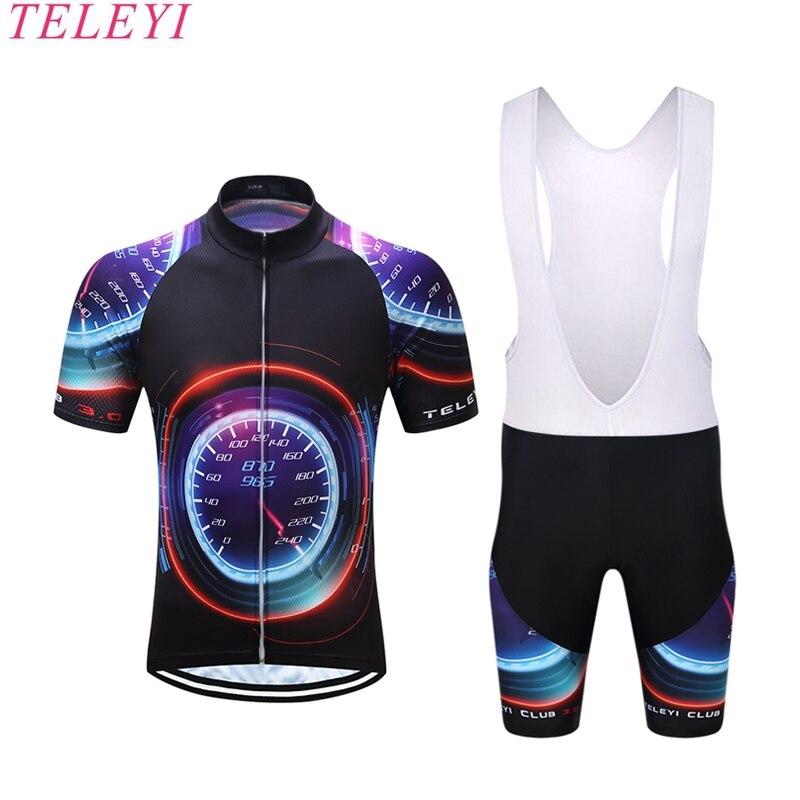 teleyi Pro Bicycle Wear/MTB Cycling Clothing /Ropa Ciclismo Mountian Bike Clothing / Mens Racing Cycling Jersey