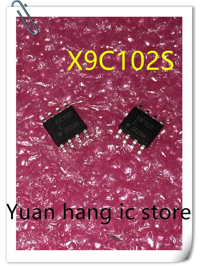 10pcs X9C102S  X9C102  SOP8