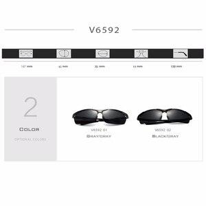 Image 5 - نظارة شمسية جديدة VEITHDIA مستقطبة للرجال من علامة تجارية مصممة للرجال نظارات شمسية كلاسيكية نظارة gafas oculos de sol masculino 6592
