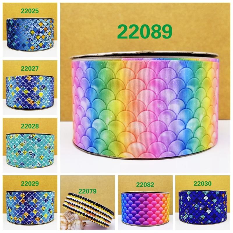 Free shipping 2018 new arrival ribbons Hair Accessories ribbon 10 yards  printed grosgrain ribbons 22089