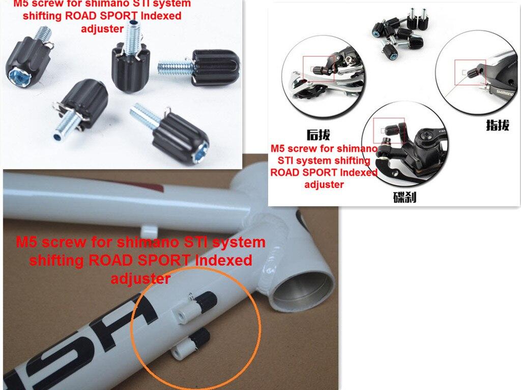 1pc Bicycle Brake Road Bike M5 Down Tube Index Barrel Cable